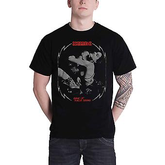 Scorpions T Shirt Love At First Sting new Official Mens Black