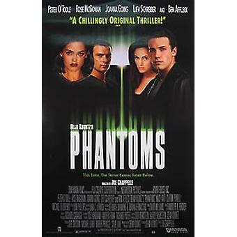 Phantoms (Video) Poster originale video/dvd