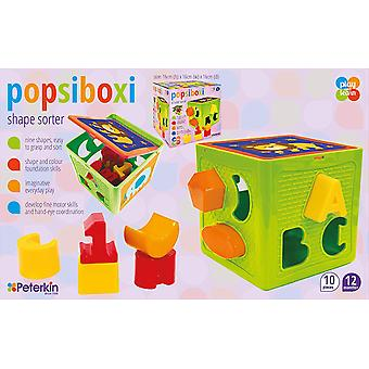 Popsiboxi vorm sorteerder
