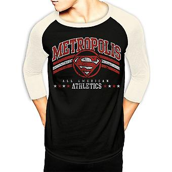 Camiseta do Atletismo Superman-Metropolis