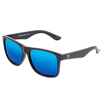 61 Solaro Polarisoidut aurinko lasit-Musta/sininen