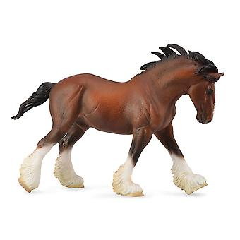 CollectA Clydesdale Stallion - Bay