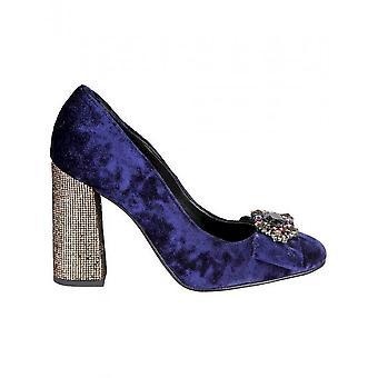 Fontana 2.0 - Shoes - High Heels - CHRIS_BLU-PLATINO - Women - navy,wheat - 40