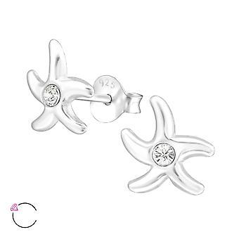 Starfish Crystal från Swarovski®-925 sterling silver öron dubbar-W32790X