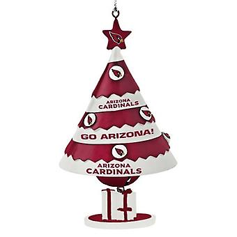 Arizona Cardinals NFL Tree Bell Ornament