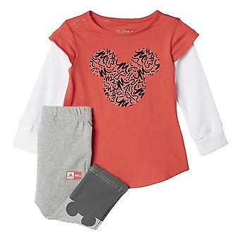 Adidas Disney Mickey Mouse Girls Jogger Set
