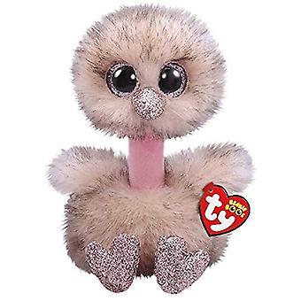 TY 36303 Henna Brown Autruche Grand Boo Soft Toy
