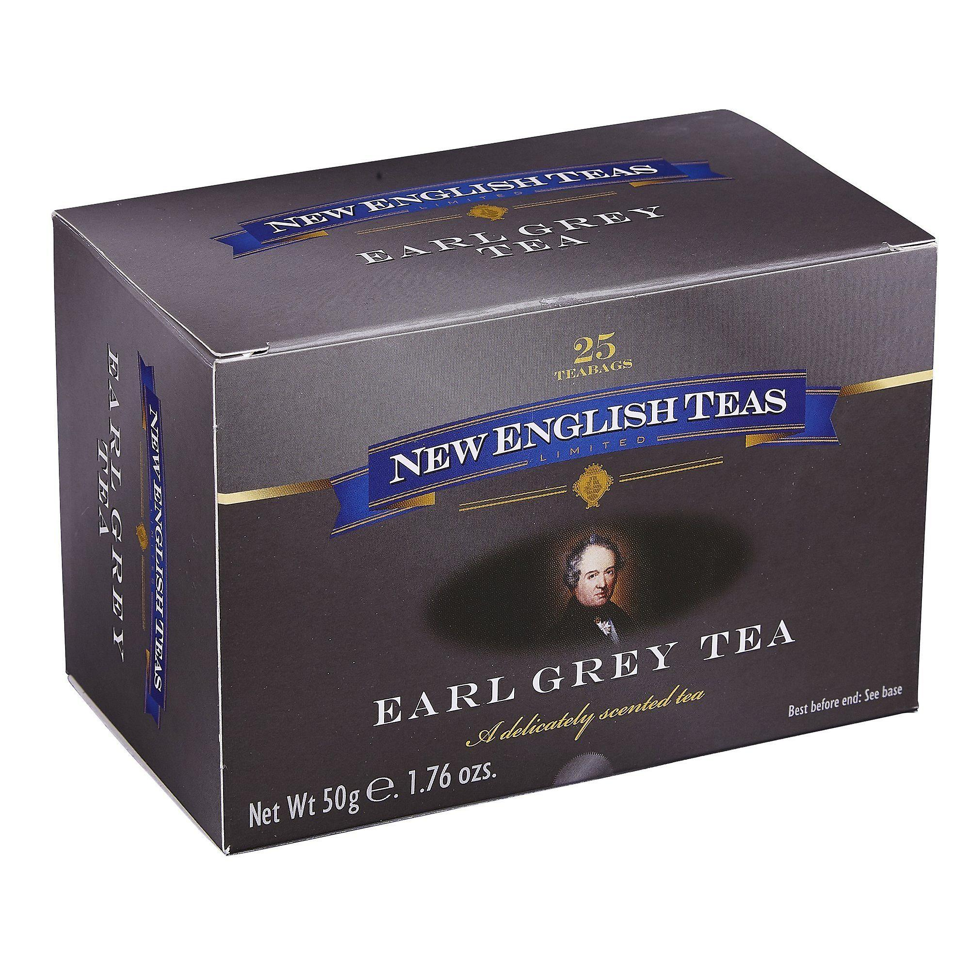 Classic earl grey tea 25 individually wrapped teabags
