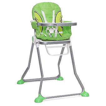 High chair Juicy, table, foldable with 5-point seat belt, washable