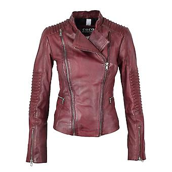 Women's leather jacket Anna
