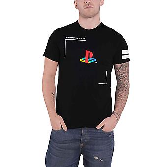 Playstation T Shirt Tech19 Classic Logo Since 1994 new Official Mens Black