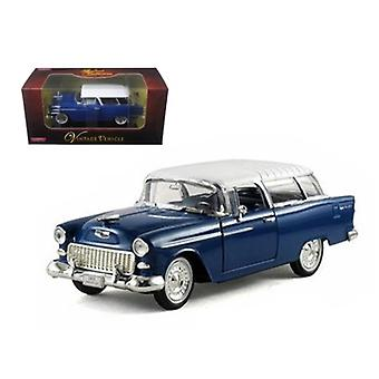 1955 Chevrolet Nomad Blue 1/32 Diecast Car Model di Arko Products