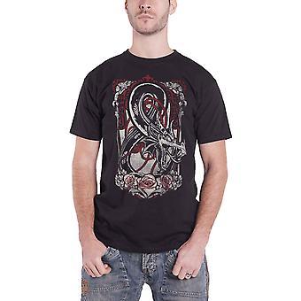 Dungeons And Dragons T Shirt Wizards Logo nieuwe Officiële Mens Black