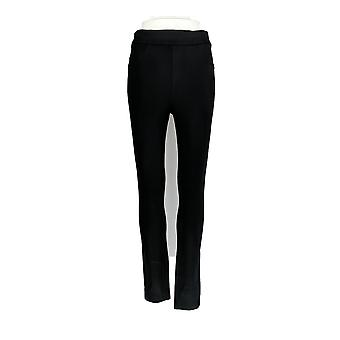 Spanx Leggings Regular Ponte Ankle-Length Black A309030
