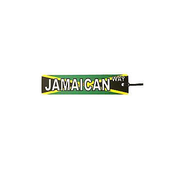 Refrogerador de ar de carro de placa de rua de maneira jamaicano