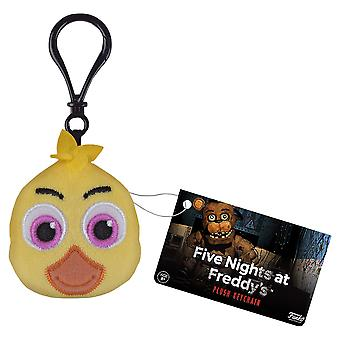 Five Nights at Freddy's Chica Plush Keychain