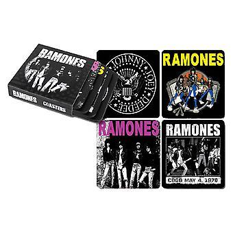 Ramones Coasters Set van 4 in sleeve