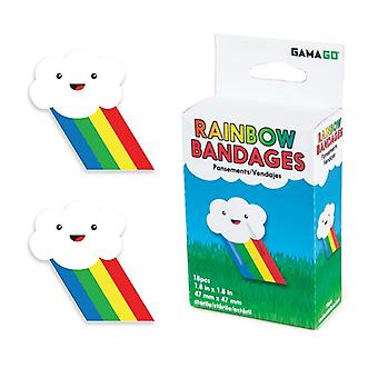 Rainbow bandages