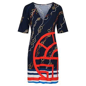 Féraud 3205072-16574 Damen's Yachting Blue Beach Kleid