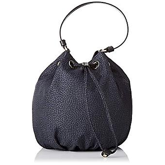 Borbonese Small Women's Bucket Bag (Black) 17x18x17 cm (W x H x L)