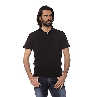 Rich John Richmond Men's Black Polo