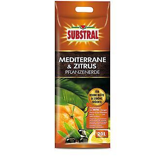 SUBSTRAL® Middellandse Zee en Citrusplantengrond, 20 liter