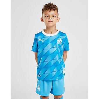 New Puma Kids' Olympique Marseille 2019/20 Away Kit Blue