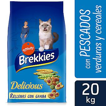 Brekkies Excel Delicious Fish and Vegetables (Cats , Cat Food , Dry Food)