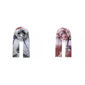 Intrigue Womens/Ladies Hummingbird And Floral Print Scarf