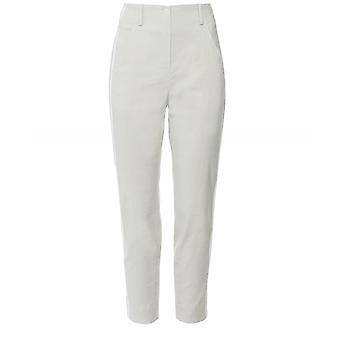Annette Gortz lino mezcla pantalones de rayas en contraste