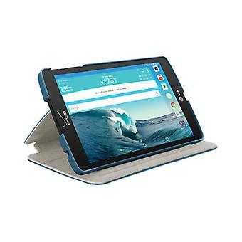 LG G Pad X8.3 için Verizon Folio Kılıfı - Mavi