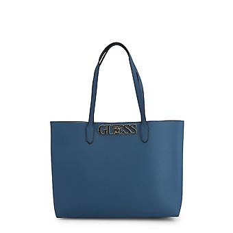 Guess Original Women Spring/Summer Shopping Bag - Blue Color 39363
