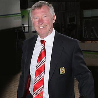 Manchester United FC offizielles Geschenk Sir Alex Ferguson Poly Club Krawatte