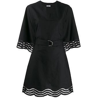 P.a.r.o.s.h. D723165013 Women's Black Polyester Dress