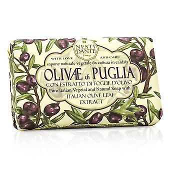 Natural soap with italian olive leaf extract olivae di puglia 193452 150g/3.5oz
