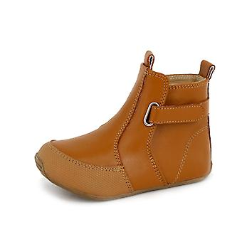 SKEANIE Toddler and Kids Leather Cambridge Boots in Tan