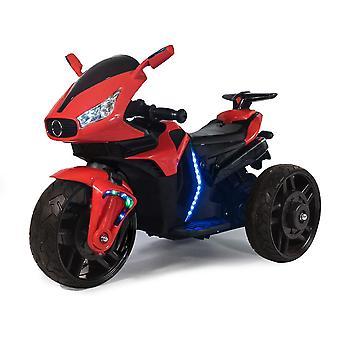 Moni Kids Elektrisk Motorsykkel Skygge EVA Dekk LED lys frontlys MP3 Musikk