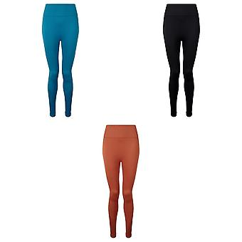 TriDri Women/Ladies Seamless 3D Fit Multi-Sport Sculpt Solid Colour Leggings