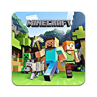 2 ST Minecraft Untersetzer