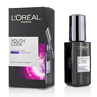 L'oreal Youth Code Skin Activating Ferment Eye Essence - 20ml/0.67oz