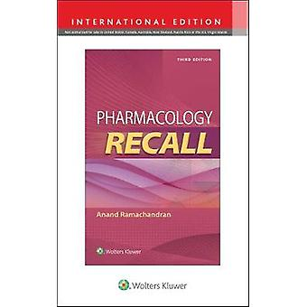 Pharmacology Recall by Anand Ramachandran - 9781975140946 Book