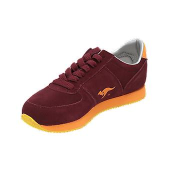 KangaROOS Combat Suede Women's Sneaker Red Gym Shoes Sport Running Shoes