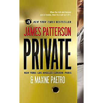 Private by James Patterson - 9780446572569 Book