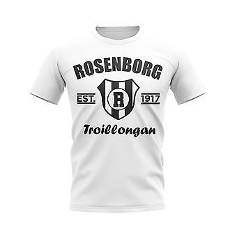 Maglietta Calcio del Rosenborg (Bianco)
