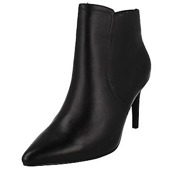 Ladies Leather Collection Ankle Boots