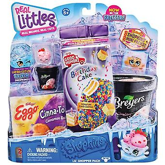 Shopkins real littles icy treats assortment shopper toy pack for ages 5+