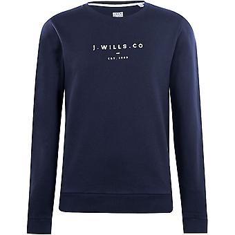 Jack Wills Wills Cruxton Graphic Sweatshirt