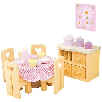 Le Toy Van Doll House Sugar Plum sala da pranzo