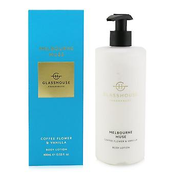 Glasshouse Body Lotion - Melbourne Muse (Coffee Flower & Vanilla) 400ml/13.53oz