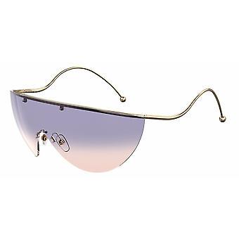 Givenchy GV7152/S HZJ/O9 Gold/Lilac-Plum Gradient Sunglasses